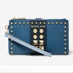 🎁 Just In 🎁 MK Adele Studded Leather Wallet